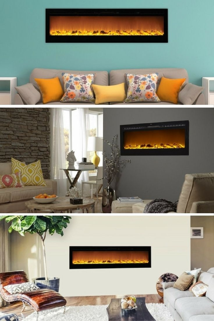 recessed electric fireplace dact us
