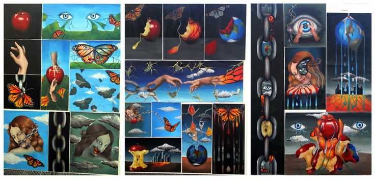 Top Art Exhibition - Painting » NZQA NZQA Level 3 Folio