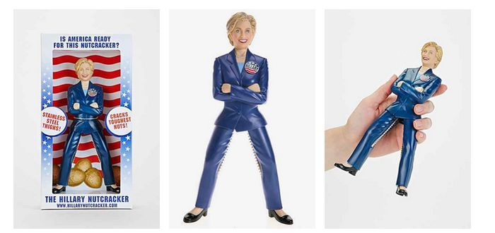 Hillary Clinton nutcracker