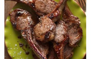 Catalan Lamb Chops with Apricots and Sage - Vita Sana Olive Oil