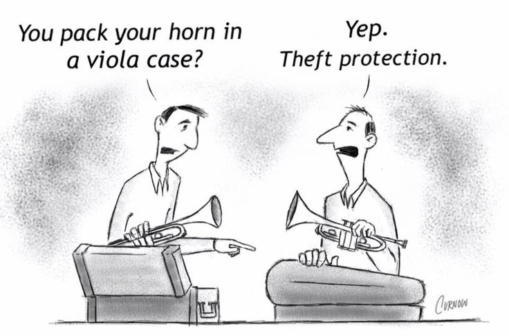 Cuz no one wants a viola...