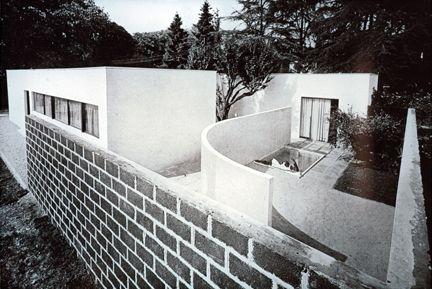 Luigi Figini and Gino Pollini, Villa-Studio for an Artist