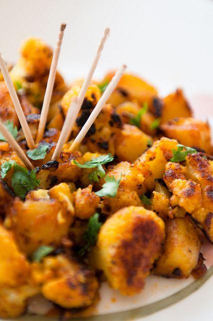 Cauliflower and Potato Appetizer