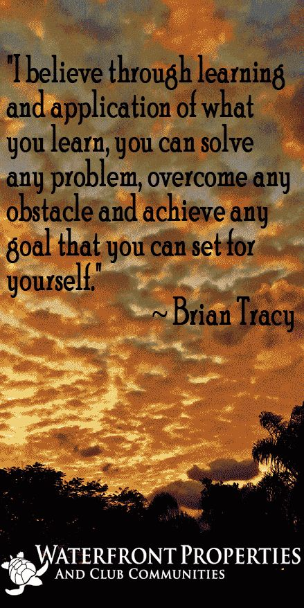 Bryan Tracy Inspirational Quote - WFP Blogs  Motivational quotes by @wfpblogs for www.wfpcc.com