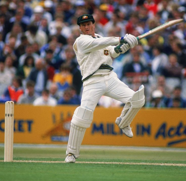 Steve Waugh (Australia.) Twin brother of Mark and Ashes captain. 10 centuries in The Ashes.