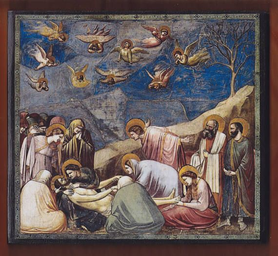 Giotto Lamentation The Mourning of Christ  Scrovegni