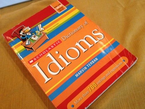 Scholastic's Idiom Dictionary ::This would be very helpful for kids who struggle with strictly literal thinking. Idioms are a skill we NT people take for granted but NOT everyone understands them!