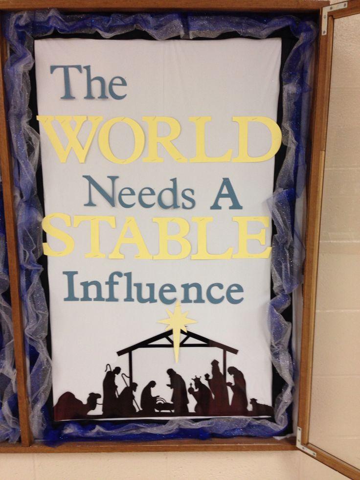 Bulletin Board For Mercer Christian Academy Thanks