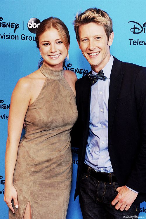 (3/100 photos of Emily VanCamp and Gabriel Mann)