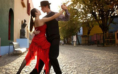 I LOVE to Tango!!! I must go to Argentina on a tango vacation. I want to stay in Buenos Aires for at least a month and take classes every day.