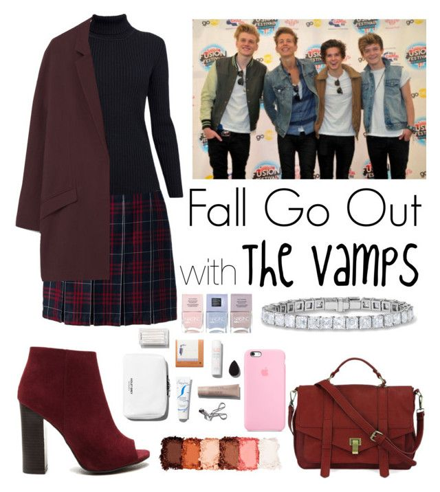 Fall outfits when going out with The Vamps.