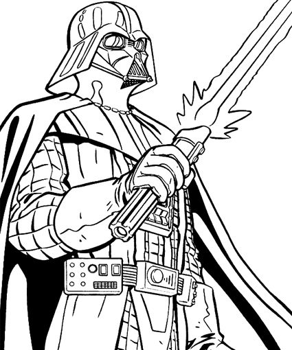 18 best star wars coloring in - kids activity images on Pinterest ...