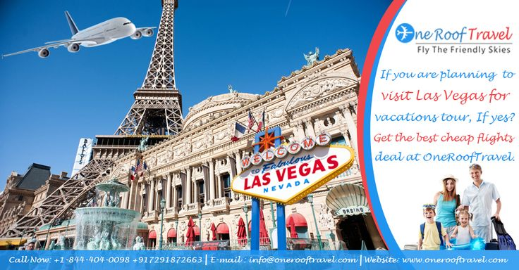 If you are planning to visit Las Vegas for vacations tour, If yes? Get the best cheap flights deal at OneRoofTravel. For more Information please visit – https://www.onerooftravel.com
