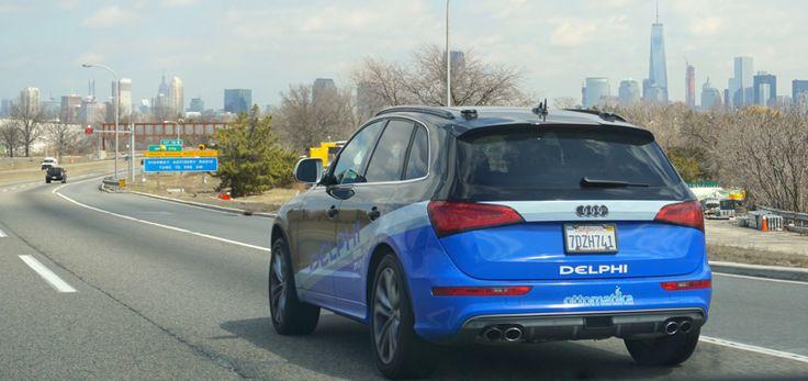 Delphi Automotive's Autonomous Car Drives Itself Across Country