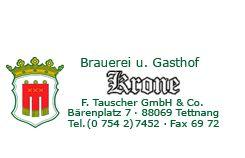 Brauerei u. Gasthof zur Krone Tettnang