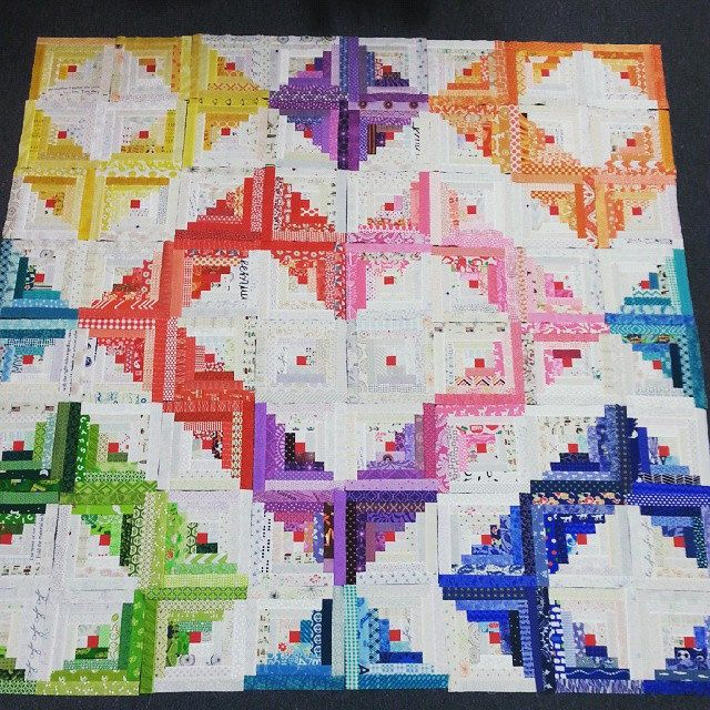 Best 2101 Log Cabin Quilts Images On Pinterest Diy And