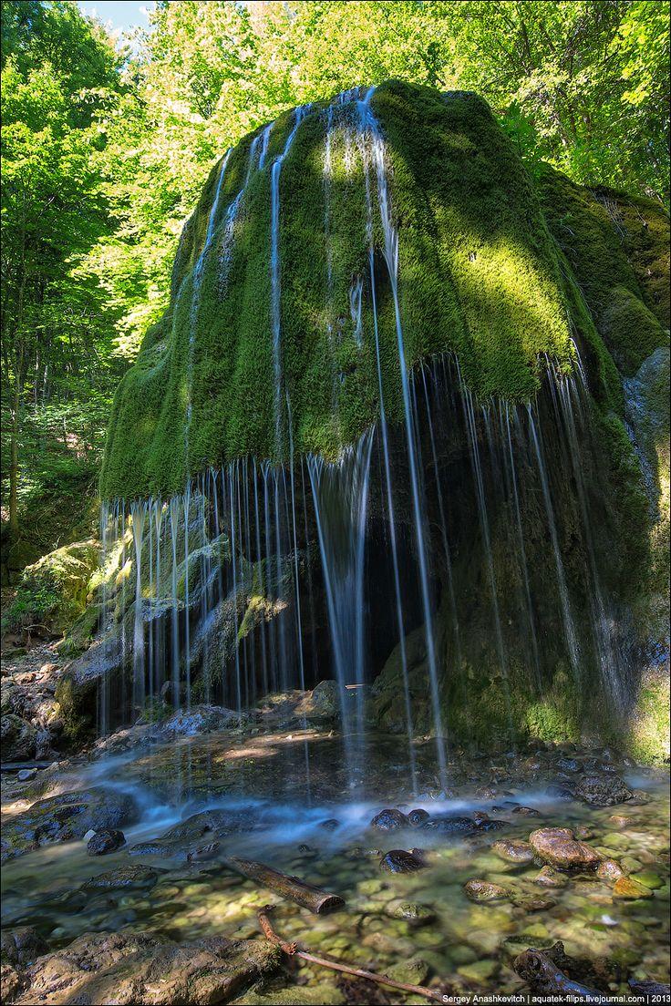 Крым. Водопад Серебряные Струи.