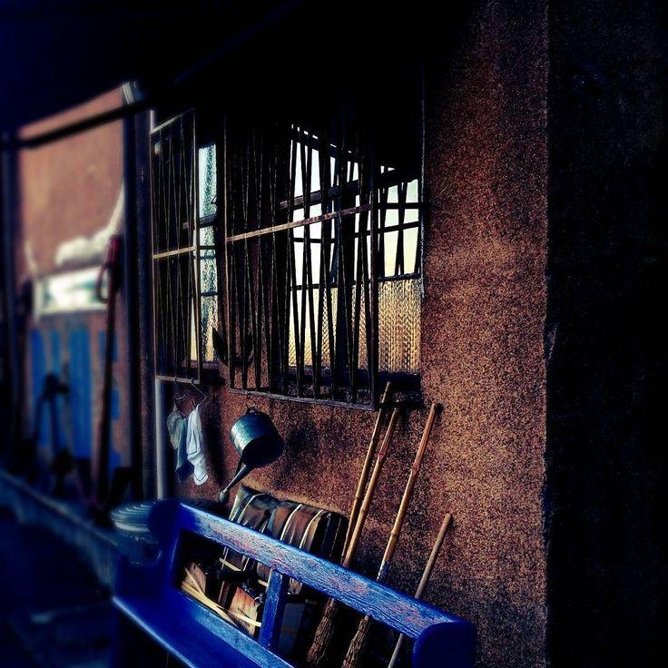 BLUE  #横浜 #象の鼻パーク #海岸通り #大桟橋  #ブルーブルーヨコハマ  #japan #yokohama #blue #brown #structure #street #park #shop #landscape #instagram  #オズハマラブ