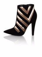 Womens **Paper Dolls Black 'Kravitz' Shoes- Black