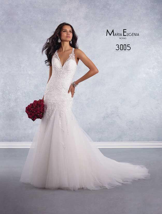 Vestido de novia 3005 de Alfred Angelo. en www.mariaeugenia.pe