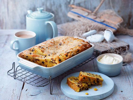 Saffron cake is a well-known Cornish treat traditionally baked for a special occasion and very easily found in the bakeries along the harbour front of St Ives. Here's the recipe for you to make it at home, perfect with lashings of clotted cream.