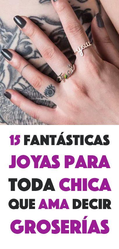 15 Fantásticas Joyas Para Toda Chica Que Ama Decir Groserías