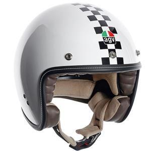 AGV - AGV RP 60 Checker Flag Helmet - White/Black