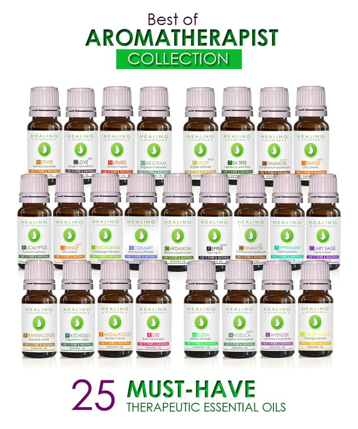 Aromatherapist collection- Essential oils collection- Organic- Aromatic healing oils- Aromatherapy starter kit - Therapeutic essential oils by FairOrganic on Etsy