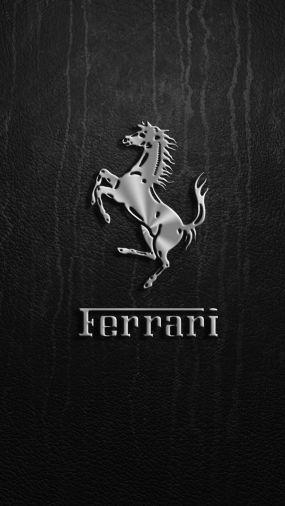 Ferrari Logo download wallpaper para iPhone