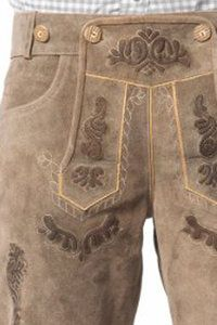 Lederhose Vintage Short - De Kaborij