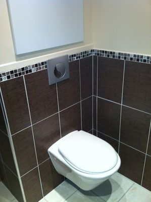 Albertus rénovation création salle de bain prunières installation wc suspendu après travaux