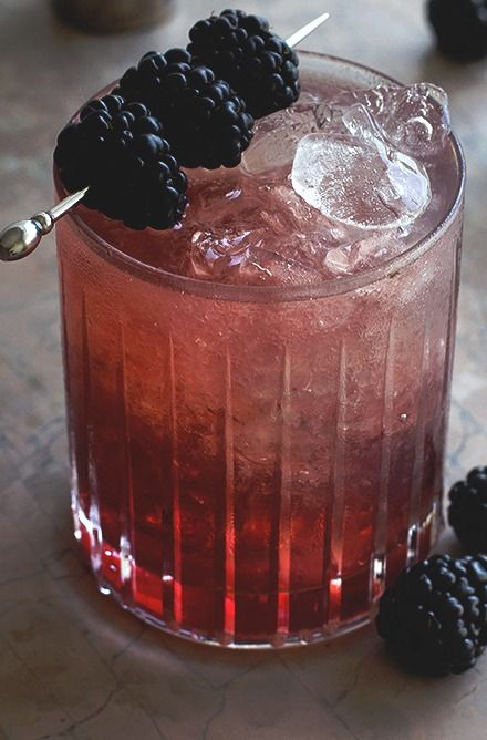 Blackberry Bramble | Honestly Yum