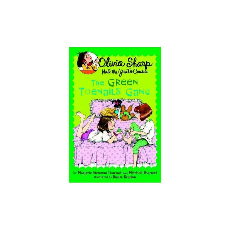 The Green Toenails Gang ( Olivia Sharp) (Reprint) (Paperback)