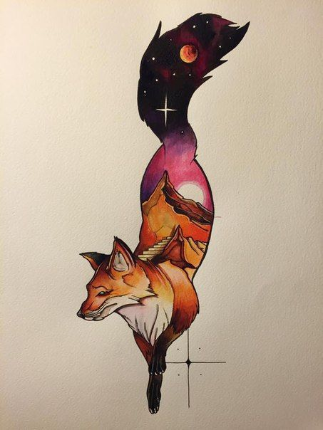20 Stunning Fox Tattoos For Women & Men