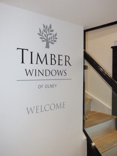 Timber Windows of Olney showroom, welcome.