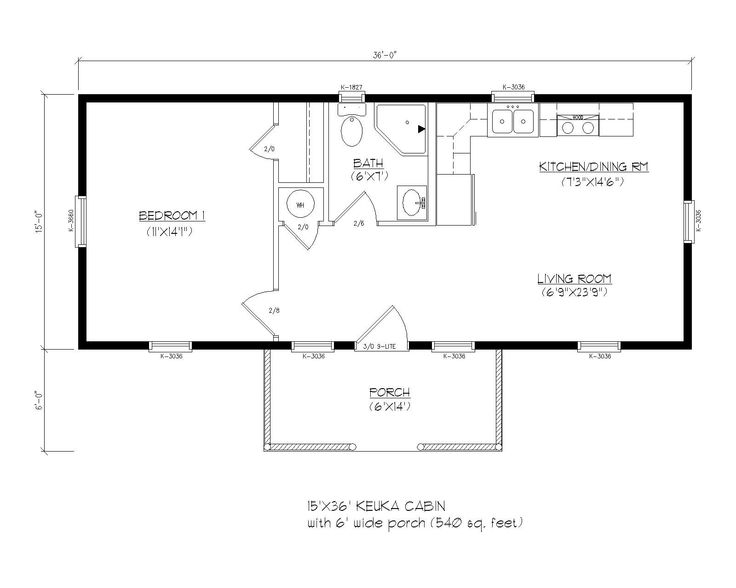 Prefab cabin floor plans gurus floor for Cottage modular homes floor plans