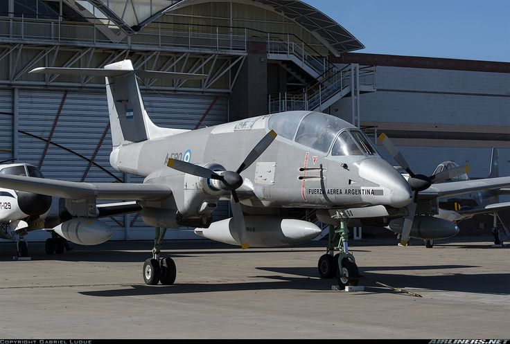 Argentina Air Force FMA IA-58A PUCARA aircraft picture