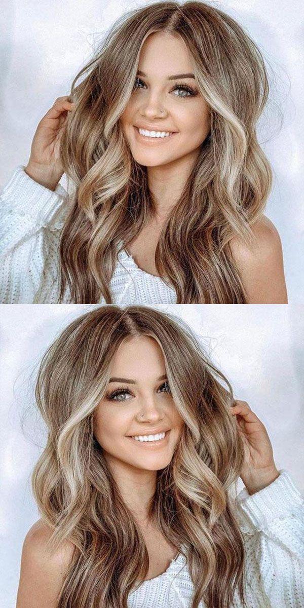 New Unique Brown Big Wavy Long Curly Women Hair Wig Wig Hairstyles Long Thin Hair Big Wavy Hair