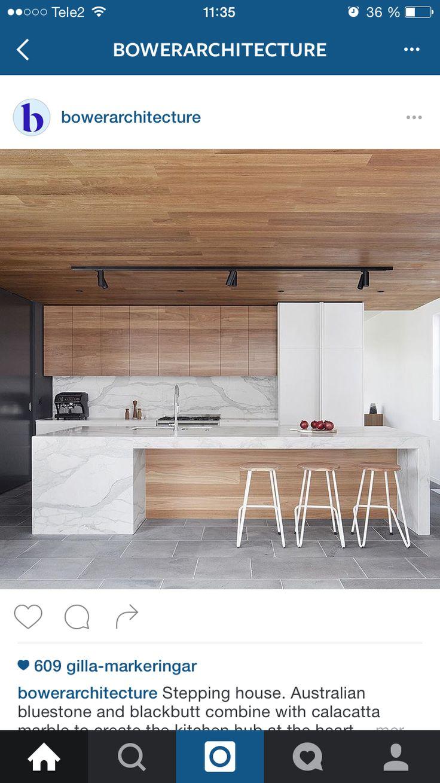 Kan vi måla taket i köket fram till köksön med samma färg som ...