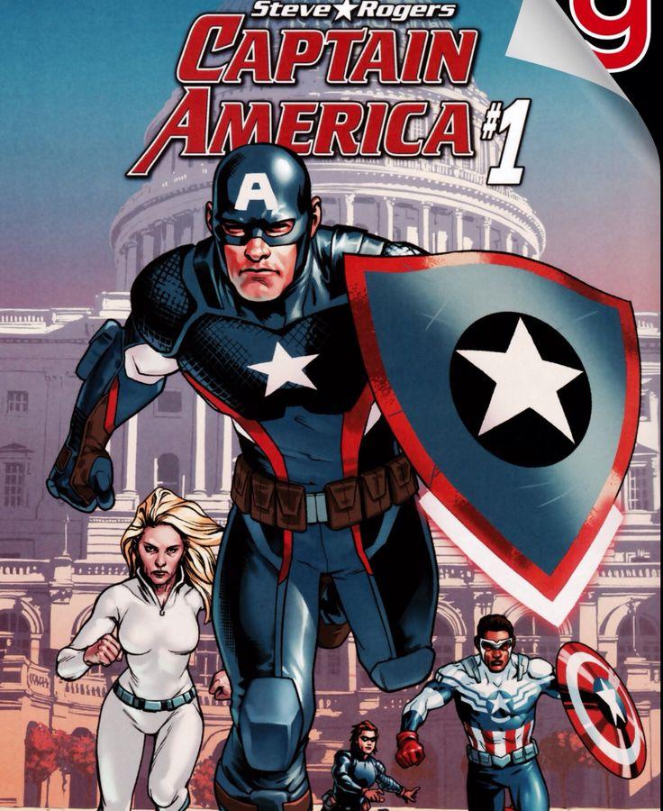 Captain América #1
