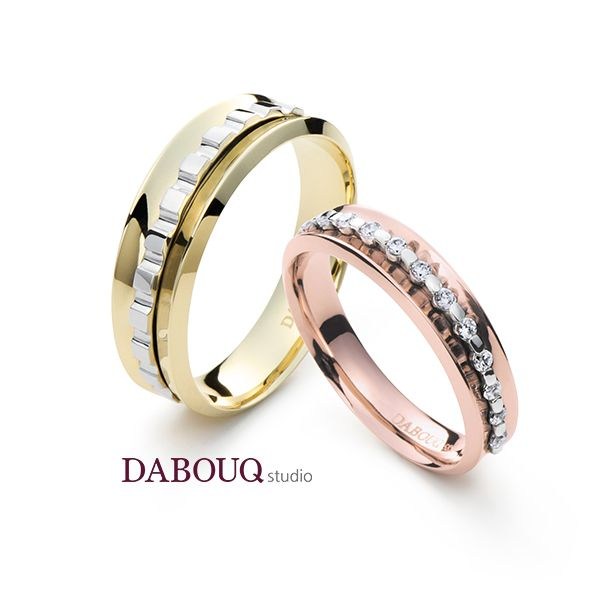 Dabouq Studio Couple Ring - DR0012 - Simple+ #DABOUQ #Jewelry #쥬얼리 #CoupleRing #커플링 #ProposeRing #프로포즈링 #프로포즈반지 #반지 #결혼반지 #Dai반지 #Diamond #Wedding_Ring  #Wedding_Band #Gold #White_Gold #Pink_Gold #Rose_Gold