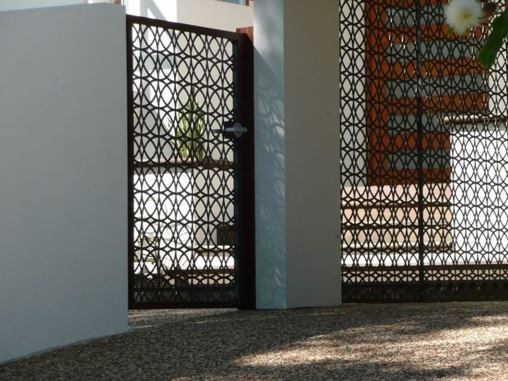 17 meilleures id es propos de portes de jardin en m tal for Porte metallique jardin