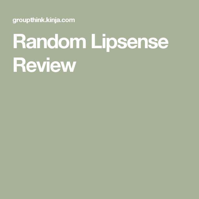 Random Lipsense Review