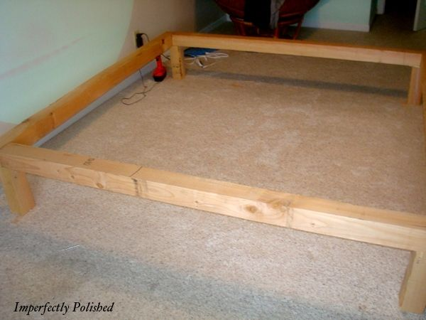 build your own bed plans beds with drawers derived from the captains bed - Raised Bed Frame