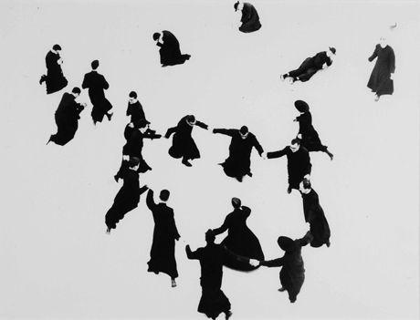 So impressive -- dancing Italian monks taken by Mario Giacomelli