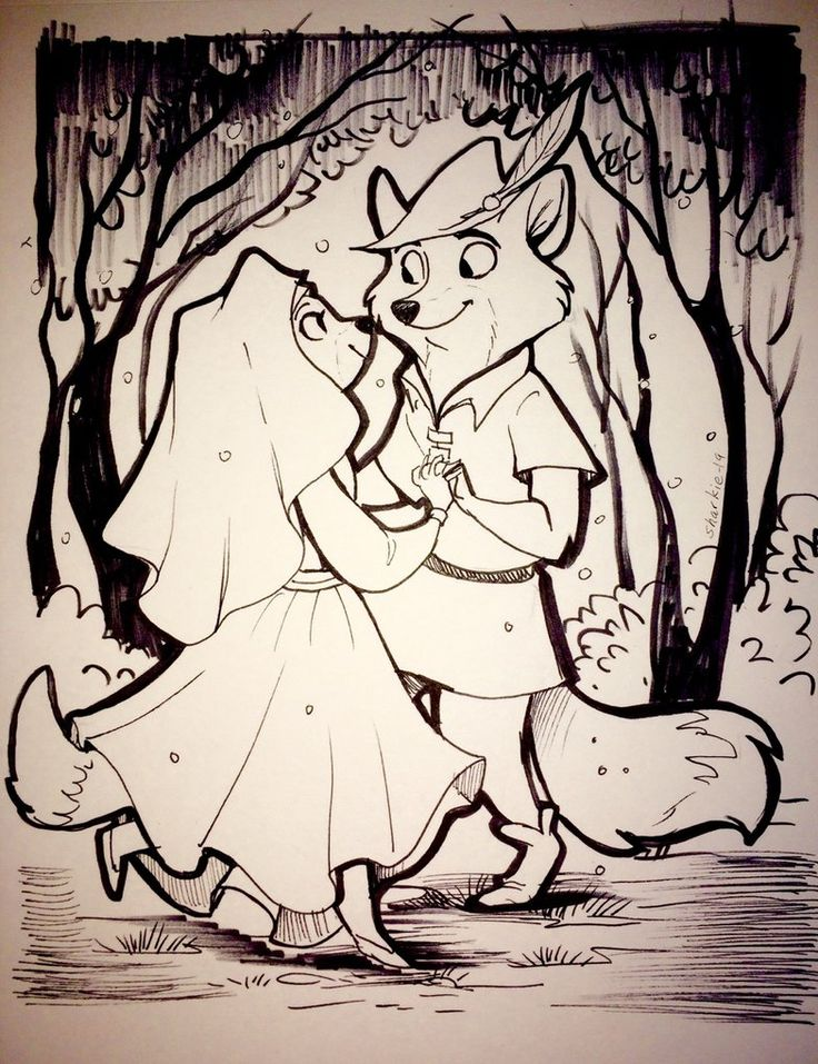 Robin Hood Cartoon Movie. Fan Art Drawings and Illustrations. See more art and information about Rachel Sharp, Press the Image.