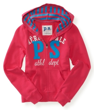 Kids' PS Athletic Zip-Front Hoodie  $16.25 at aeropostale.com