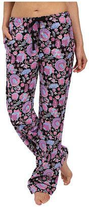 Vera Bradley Cozy Flannel Pajama Pants - Shop for women's Pants - Alpine Floral Pants
