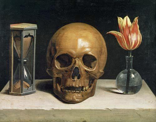 Vanitas Still Life by Philippe de Champaigne (1602-1674)                                                                                                                                                                                 More
