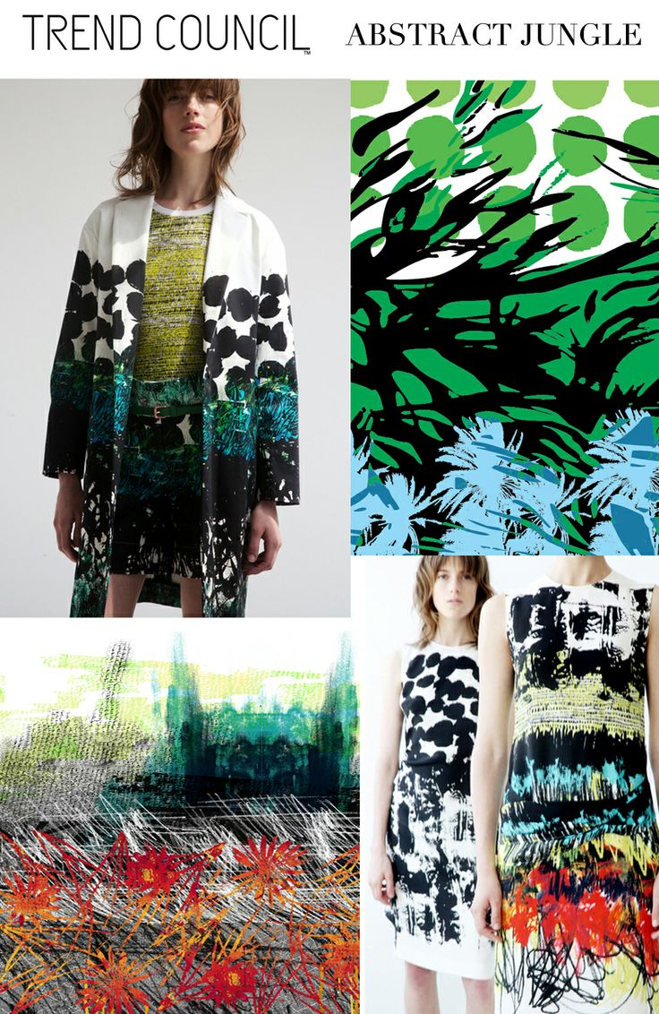 Abstract JUNGLE.